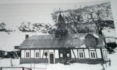 Alte Schule, rechter Teil später Dreschschuppen