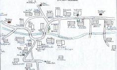 Lageplan der Häuser in Nauholz