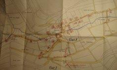 Lageplan Wasserleitung