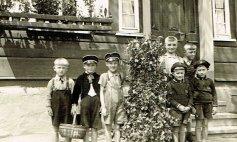 v.l. Heipels Otto, ?? , Däjeses Bruno, Lömmel ?? , Krämersch Karl, ?? , rechts vorne Heide Otto und Fritz aus Deuz